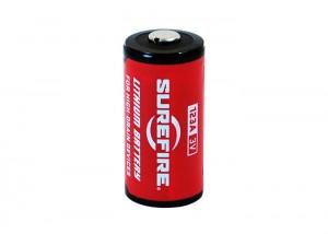 シュアファイア社のフラッシュライト専用リチウム電池