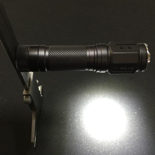 ジェットビーム LEDアングル・ヘッドランプ(懐中電灯) 明るさ320ルーメン H10A
