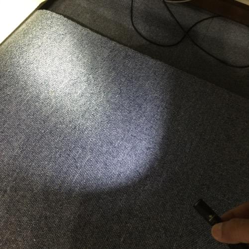 小型LEDフラッシュライト オーライト i3S-EOS-BK レビュー