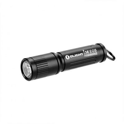 オーライト 超小型LEDフラッシュライト(懐中電灯) i3E EOS 明るさ90ルーメン i3E-EOS-BK