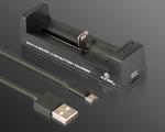 XTAR リチウム電池充電器 充電数1本 MC1
