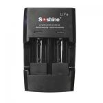 リチウムイオン電池CR123用充電器 2本同時充電 S5-Fe