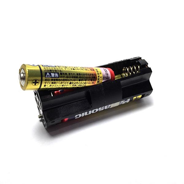 XL200の電池挿入