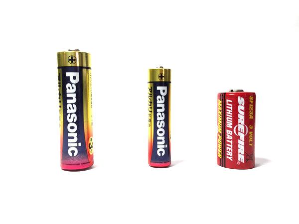 電池サイズ比較