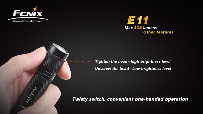 フェニックス 小型LED懐中電灯 E11