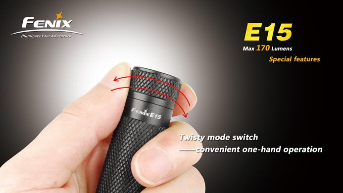 フェニックス 小型LED懐中電灯 E15
