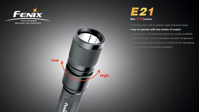 フェニックス LED懐中電灯 E21