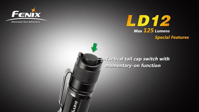 フェニックス 小型LED懐中電灯 LD12-R5