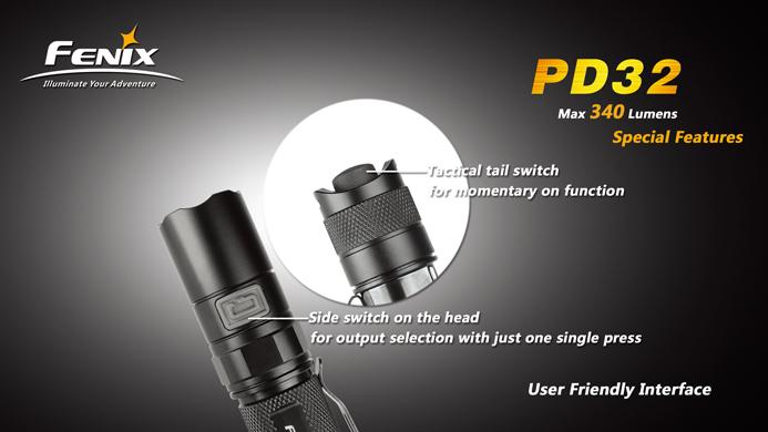 フェニックス 小型LED懐中電灯 PD32