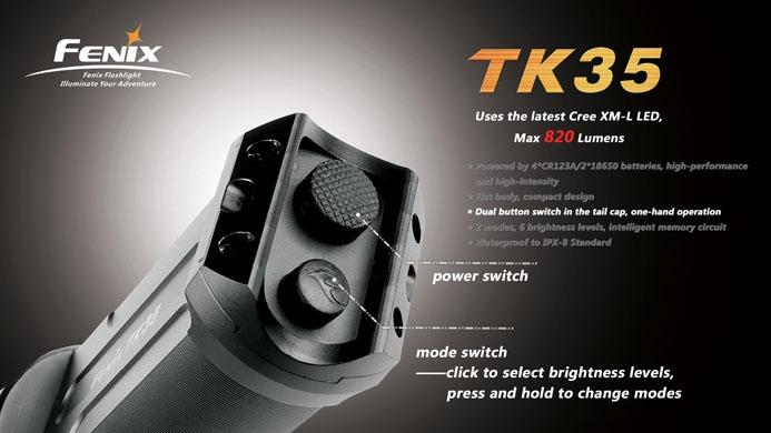 フェニックス 強力LED懐中電灯 TK35