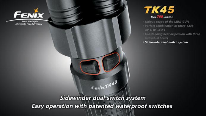 フェニックス 強力LED懐中電灯 TK45