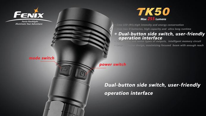 フェニックス 強力LED懐中電灯 TK50